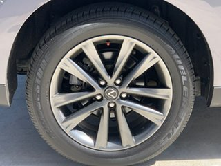 2013 Lexus RX GYL15R MY12 RX450h F Sport Grey 6 Speed Constant Variable Wagon Hybrid