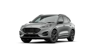 2020 Ford Escape ZH 2021.25MY ST-Line Silver 8 Speed Sports Automatic SUV.