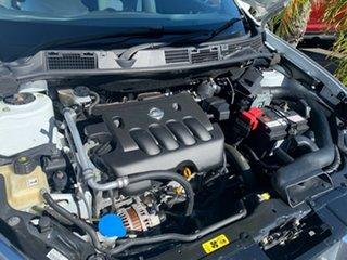 2011 Nissan Dualis J10 Series II MY2010 ST Hatch White 6 Speed Manual Hatchback