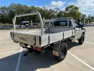 2005 Toyota Hilux KUN26R SR (4x4) Silver 4 Speed Automatic Cab Chassis.