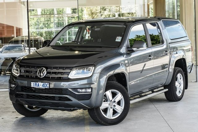Demo Volkswagen Amarok 2H MY19 TDI550 4MOTION Perm Highline Berwick, 2019 Volkswagen Amarok 2H MY19 TDI550 4MOTION Perm Highline Grey 8 Speed Automatic Utility