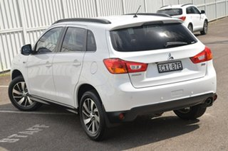 2014 Mitsubishi ASX XB MY15 LS White 6 Speed Sports Automatic Wagon.