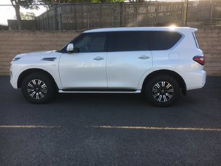2020 Nissan Patrol Y62 Series 5 MY20 TI 7 Speed Sports Automatic Wagon.
