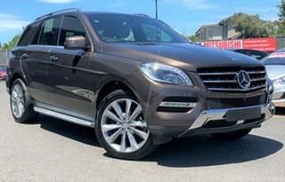 2014 Mercedes-Benz M-Class W166 ML350 BlueTEC 7G-Tronic + Brown 7 Speed Sports Automatic Wagon.