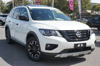 2019 Nissan Pathfinder R52 Series III MY19 ST-L X-tronic 4WD N-TREK White 1 Speed Constant Variable.