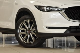 2020 Mazda CX-5 KF4WLA 100th Anniversary SKYACTIV-Drive i-ACTIV AWD White 6 Speed Sports Automatic
