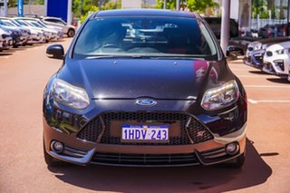 2013 Ford Focus LW MkII ST Black 6 Speed Manual Hatchback
