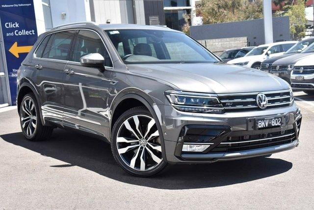 Used Volkswagen Tiguan Port Melbourne, 2016 Volkswagen Tiguan 162TSI Highline Grey 7SPD DSG TRANS Wagon