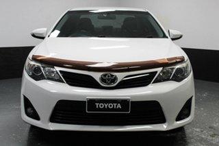 2014 Toyota Camry ASV50R RZ White 6 Speed Sports Automatic Sedan.