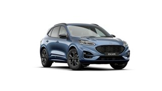 2020 Ford Escape ZH 2021.25MY ST-Line Blue Metallic 8 Speed Sports Automatic SUV