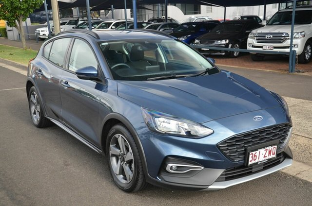 Used Ford Focus SA MY19.25 Active Toowoomba, 2019 Ford Focus SA MY19.25 Active Blue 8 Speed Automatic Hatchback