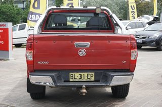 2007 Holden Rodeo RA MY07 LX Crew Cab 4x2 Red 5 Speed Manual Utility