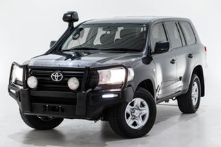 2018 Toyota Landcruiser VDJ200R GX Grey 6 Speed Sports Automatic Wagon.
