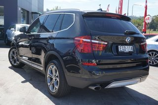 2015 BMW X3 F25 LCI xDrive20d Steptronic Black 8 Speed Automatic Wagon