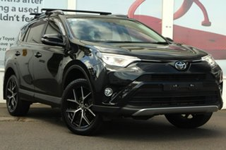 2018 Toyota RAV4 ASA44R GXL AWD Black 6 Speed Sports Automatic Wagon.