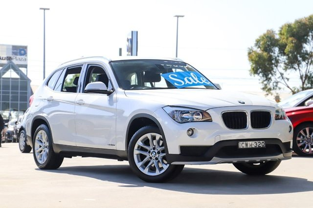 Used BMW X1 E84 MY0314 sDrive18d Kirrawee, 2014 BMW X1 E84 MY0314 sDrive18d White 8 Speed Sports Automatic Wagon