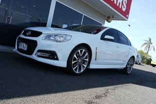 2015 Holden Commodore VF MY15 SV6 Storm White 6 Speed Sports Automatic Sedan.