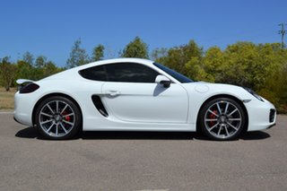 2015 Porsche Cayman 981 MY16 PDK White 7 Speed Sports Automatic Dual Clutch Coupe.
