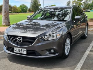 2017 Mazda 6 GL1031 Sport SKYACTIV-Drive Grey 6 Speed Sports Automatic Wagon