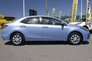 2015 Toyota Corolla ZRE172R Ascent S-CVT Blue Mist 7 Speed Constant Variable Sedan