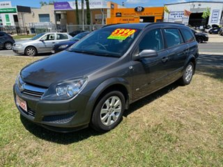 2009 Holden Astra AH MY09 CD Grey 4 Speed Automatic Hatchback.