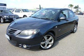 2005 Mazda 3 BK1031 SP23 Charcoal Grey 4 Speed Sports Automatic Sedan.