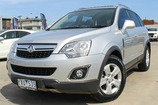 2012 Holden Captiva CG Series II 5 AWD Silver 6 Speed Sports Automatic Wagon
