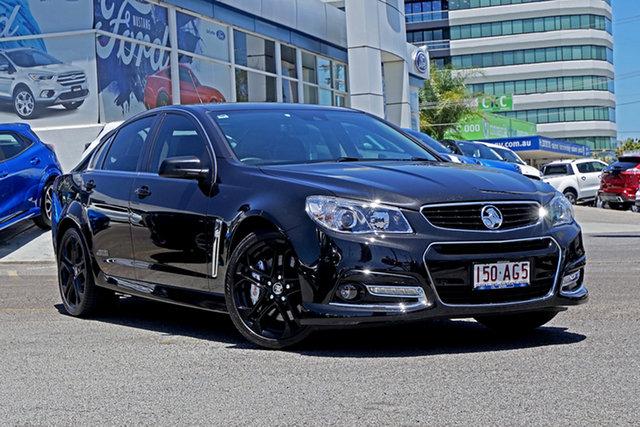 Used Holden Commodore VF MY15 SS V Redline Springwood, 2014 Holden Commodore VF MY15 SS V Redline Black 6 Speed Sports Automatic Sedan