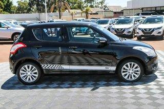 2011 Suzuki Swift FZ GLX Black 4 Speed Automatic Hatchback.