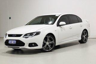 2013 Ford Falcon FG MK2 XR6 White 6 Speed Auto Seq Sportshift Sedan.