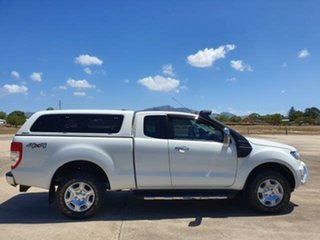 2017 Ford Ranger PX MkII XLT Super Cab White 6 Speed Manual Utility