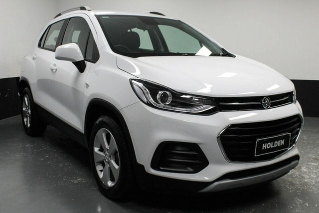 Used Holden Trax TJ MY19 LS Hamilton, 2019 Holden Trax TJ MY19 LS White 6 Speed Automatic Wagon
