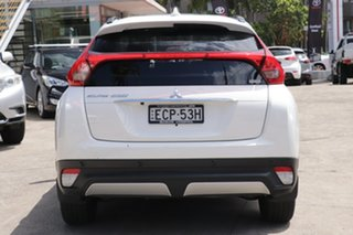 2019 Mitsubishi Eclipse Cross YA MY19 Exceed (AWD) White Continuous Variable Wagon