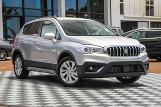 2020 Suzuki S-Cross JY Turbo Silky Silver 6 Speed Sports Automatic Hatchback.