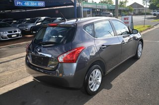 2013 Nissan Pulsar C12 ST Grey Continuous Variable Hatchback.