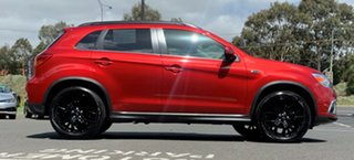 2018 Mitsubishi ASX XC MY19 Exceed 2WD Red/Black 1 Speed Constant Variable Wagon.