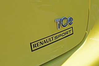 2015 Renault Clio IV B98 Expression Yellow 5 Speed Manual Hatchback