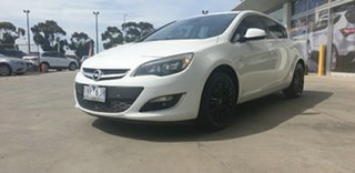 2013 Opel Astra AS Select White 6 Speed Manual Hatchback