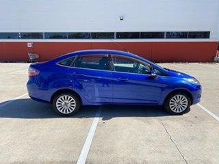 2010 Ford Fiesta WT LX Blue 6 Speed Automatic Sedan.