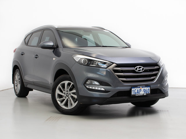 Used Hyundai Tucson TL Active (FWD), 2016 Hyundai Tucson TL Active (FWD) Grey 6 Speed Automatic Wagon