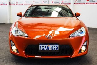 2012 Toyota 86 ZN6 GT Orange 6 Speed Auto Sequential Coupe.