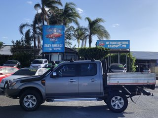 2010 Ford Ranger PK XLT Crew Cab Black 5 Speed Manual Double Cab Pick Up.