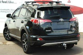 2018 Toyota RAV4 ASA44R GXL AWD Black 6 Speed Sports Automatic Wagon.