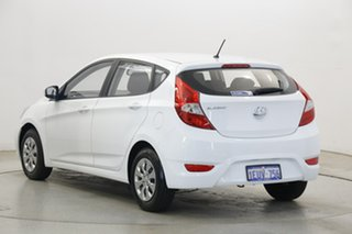 2015 Hyundai Accent RB2 MY15 Active Crystal White 4 Speed Sports Automatic Hatchback