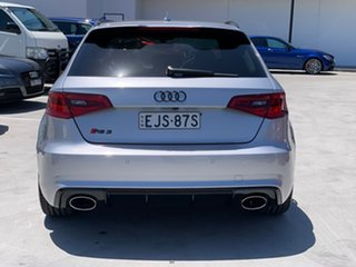 2017 Audi RS 3 8V MY18 Sportback S Tronic Quattro Silver 7 Speed Sports Automatic Dual Clutch.