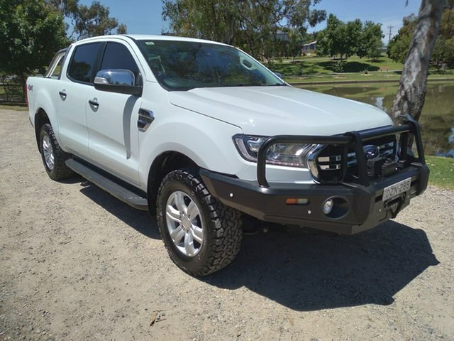 Used Ford Ranger PX MkIII 2019.00MY XLT Wodonga, 2018 Ford Ranger PX MkIII 2019.00MY XLT White 6 Speed Sports Automatic Utility