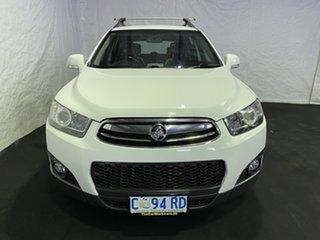 2012 Holden Captiva CG Series II 7 AWD CX Summit White 6 Speed Sports Automatic Wagon.