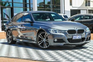 2016 BMW 3 Series F30 LCI 330i M Sport Grey 8 Speed Sports Automatic Sedan.
