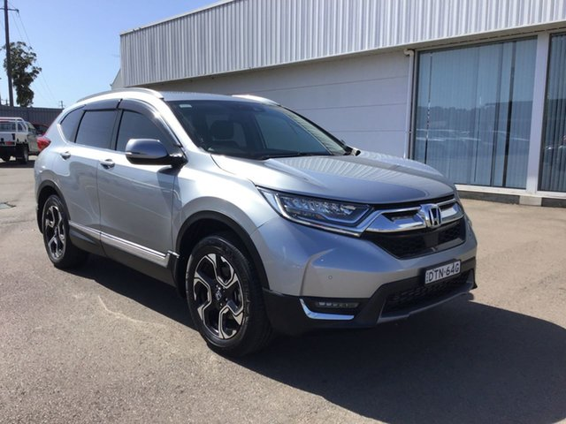 Used Honda CR-V RW MY18 VTi-LX 4WD Cardiff, 2017 Honda CR-V RW MY18 VTi-LX 4WD Silver 1 Speed Constant Variable Wagon