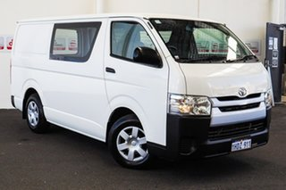 2016 Toyota HiAce KDH201R LWB French Vanilla 4 Speed Automatic Van.